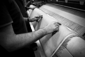 travail textile lin made in france